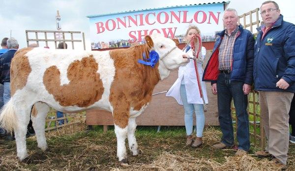 Bonniconlon Show VK Agri Commercial Reserve Champion