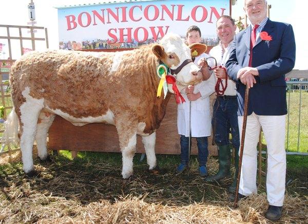 Bonniconlon Show Reserve Champion 'Cladymore Dove'