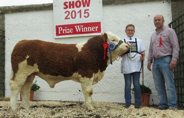 Mullingar Reserve Champion 'Shiloh-Farm Forever Royal'