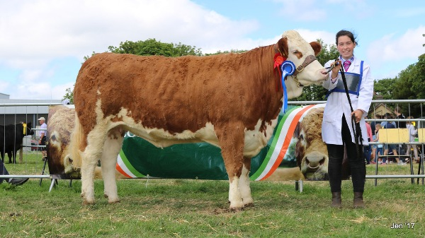 Charlevillle 2017 Reserve Female Quitrent Gillian