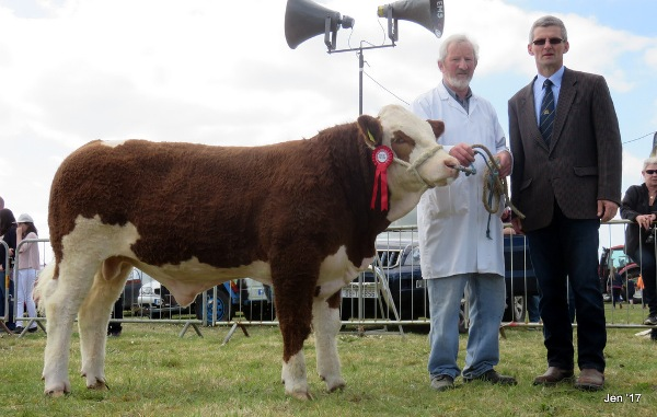 Kingdom County Fair Reserve Champion 'Towerhill Haribo'