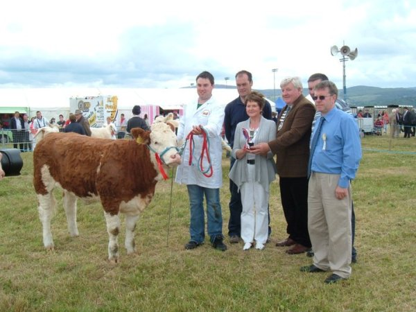 Dundalk 2011 Champion 'Broomfield Belle'