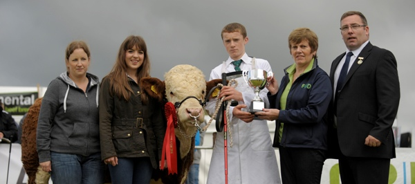 Tullamore Junior Young Handlers Class Winner Ronan Tuohy