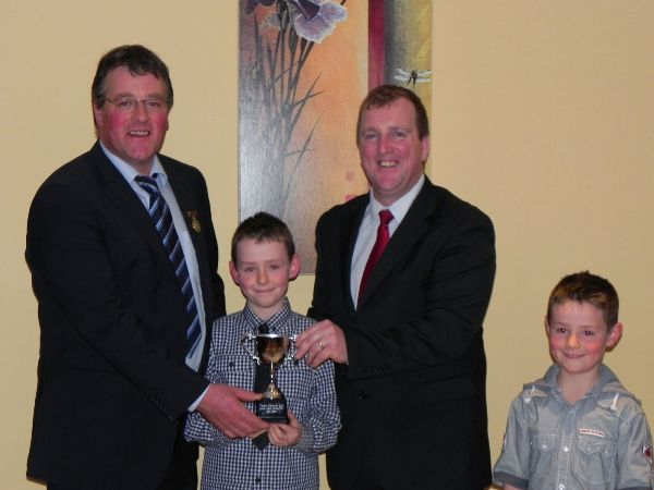 Jason McDonagh 3rd Young Stockperson