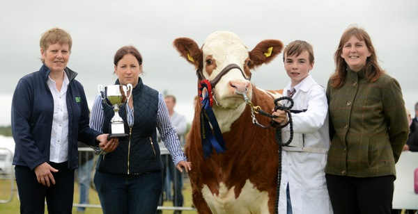 Tullamore 2015 Junior FBD Insurance Young Handler Champion