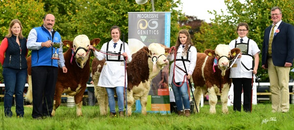 Strokestown 2016 Progressive Genetics Champion Handlers Line Up