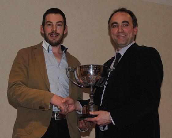 Garrett Behan 'Clonagh Herd' Winner of the Show Herd for 2012